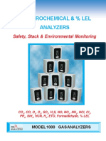 Model 1000 Analyzers CG, TCD, EC Sensors