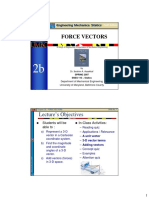 Force vector