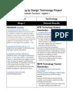 ubd technology project - kara stucky  quadratic functions