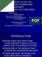 A Seminar Report on Concorde.