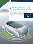 Automotive Revolution Perspective Towards 2030