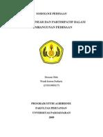 Metode Linear dan Partisipatif dalam Pembangunan Pedesaan
