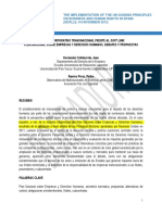 JUAN HERNANDEZ El Poder Cooperativo Transnacional Frente Al Soft Law