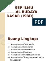 KONSEP ILMU SOSIAL BUDAYA DASAR (ISBD).pptx