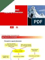 Huawei RNC Capacity Dimension