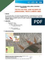 Informe de Emergencia n 021