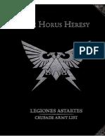 The Horus Heresy Legiones Astartes Crusade Army List (1)