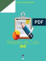 Relatorio Do Culto Online - Sgaf