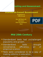 Ppt Standards-based Assessment