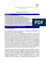Documento de Área - Interdisciplinar Doc Area e Comissão