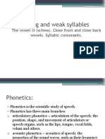 English Phonetics and Phonology - Presentation