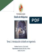 Tema 1 - Introducción Al Diseño en Ingeniería