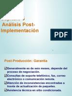 Análisis Post-Implementación - Capítulo 5 (2P)