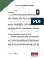 Analisis Perusahaan Dengan Vertikal Marketing System Dan Horizontal Marketing System