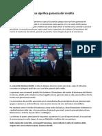 Gianluca Borelli Suisse Gas garanzia del credito in periodo di crisi