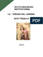 p.e.i. 2013 i.e. Virgen Del Carmen
