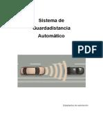 Sistema Guardadistancia Automatico