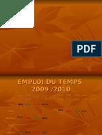 7ème Année de Base 2009-2010
