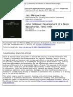 John Coltrane Development