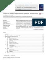Elsevier 2014 a Surveyonintelligentroutingprotocolsinwirelesssensornetworks