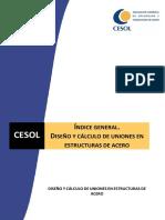 Diseño y Cálculo de Uniones en Estructuras de Acero