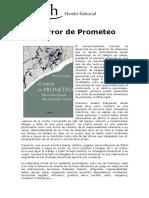 El Error de Prometeo Por Manuel Villegas