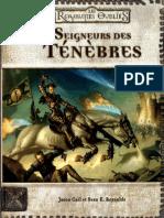 D&D- Seigneurs Des Tenebres