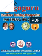 Yoga Teachers Training Prospectus