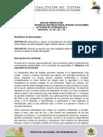 Estudio de Caso Parte 2 Afiliación a La Seguridad Social Integral