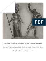 The Good, the Just, & the Happy in Four Platonic Dialogues