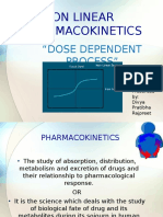 Non Linear Pharmacokinetics