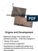 URBAN DESIGN EVOLUTION