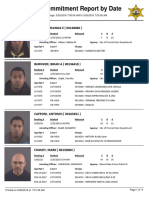 Daily booking sheet for the Peoria County Jail - March 26, 2016