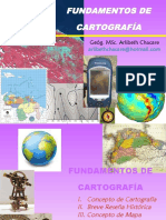 Fundamentos de Cartografìa