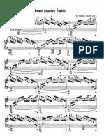 Chopin Etude Op 10. No 1.