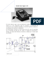 Variable Power Supply 0