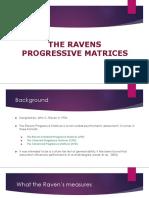 Ravens Progressive Matrices