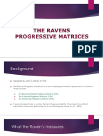 Ravens Progressive Matrices
