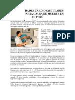 ENFERMEDADES CARDIOVASCULARES SON LA CUARTA CAUSA DE MUERTE EN EL PERÚ.pdf