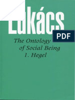Georg Lukacs - Ontology of Social Being Volume 1 Hegel