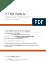 Microeconomia (Oferta e Demanda)