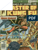 Shang-Chi Master of Kung Fu 70 Vol 1