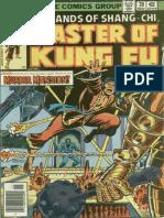 Shang-Chi Master of Kung Fu 70 Vol 1