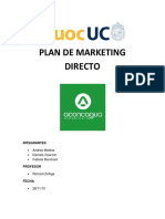 Plan de Marketing Directo