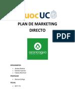 Plan de Marketing Directo
