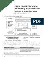 [MM2016-1-066] Szczególne problemy w początkowym okresie leczenia insuliną lub jej analogami