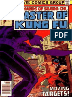 Shang-Chi Master of Kung Fu 78 Vol 1
