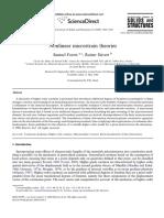 Nonlinear Microstrain Theories