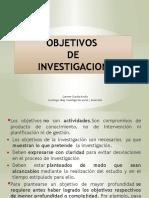 Objetivos Cuali-cuanti de Investigacion