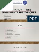 Réhabilitation des monuments historiques.pptx